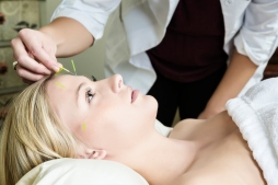 Organic Facial Treatments with Acupuncture